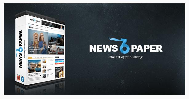 Newspaper-temas-WordPress