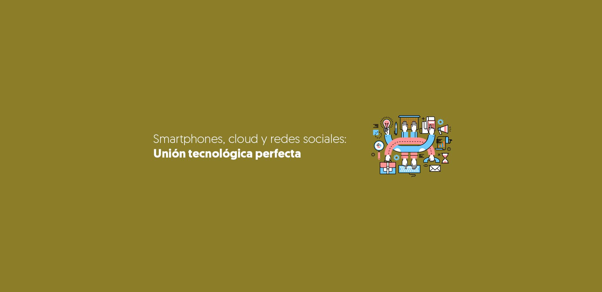 unión tecnológica redes sociales
